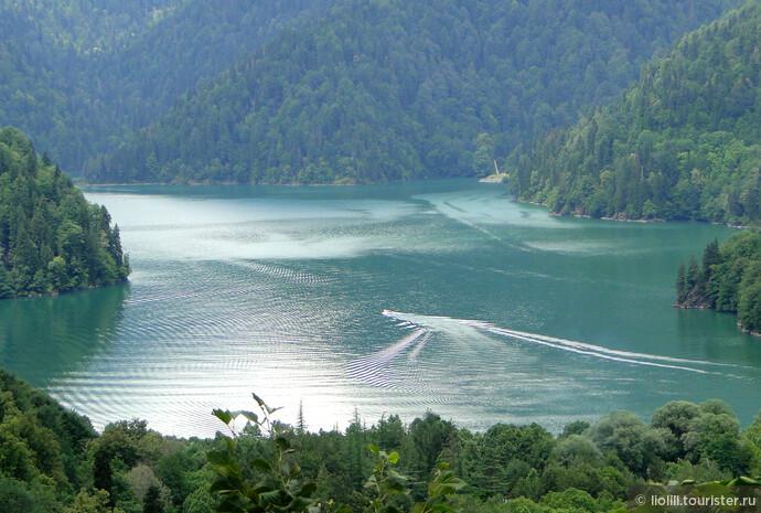 Долгожданное и прекрасное - озеро Рица