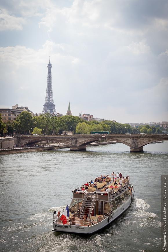 Романтичные прогулки по Сене