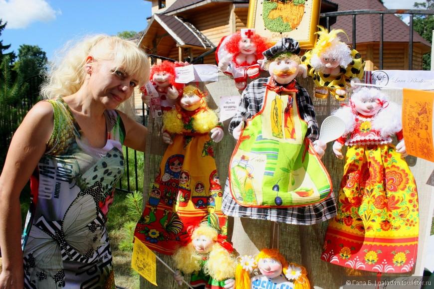 Автор и его куклы... В авторских куклах так много самого автора, неправда ли? ;))