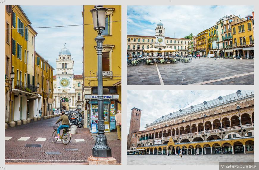 Продолжаем движение по комплексу площадей. В их центре расположен грандиозный Дворец Разума (Палаццо делла Раджоне), внутри которого находится самый большой на континенте зал без каких-либо опор.