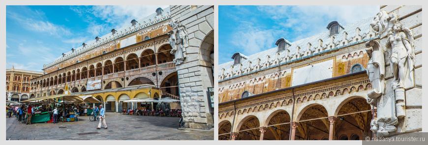 По обеим сторонам Дворца сохранились впечатляющие средневековые галереи. В них работает множество магазинов и кафе.