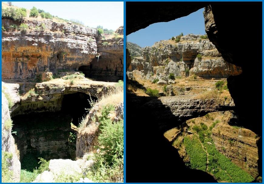 """Пещеру и водопад обнаружил в 1952 году французский спелеолог Henri Coiffait. Это место еще называют """"Пещера трех мостов"""".  Возраст пещеры 160 миллионов лет. Образовываться она начала в Юрский период Мезозойской эры. Тысячи лет вода работала над этим произведением, вытачивая в известняке вертикальную и кольцевую эрозию. В результате, в сочетании с несколькими обвалами на сегодняшний день и получилось такое вот природное чудо."""