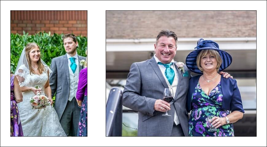 Случайно набрели на английскую свадьбу.