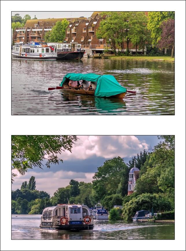 Трое в лодке,без собаки и круизный кораблик.