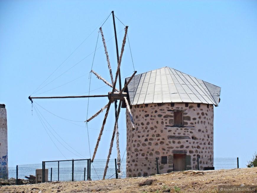 Символ Бодрума- ветряная  мельница.