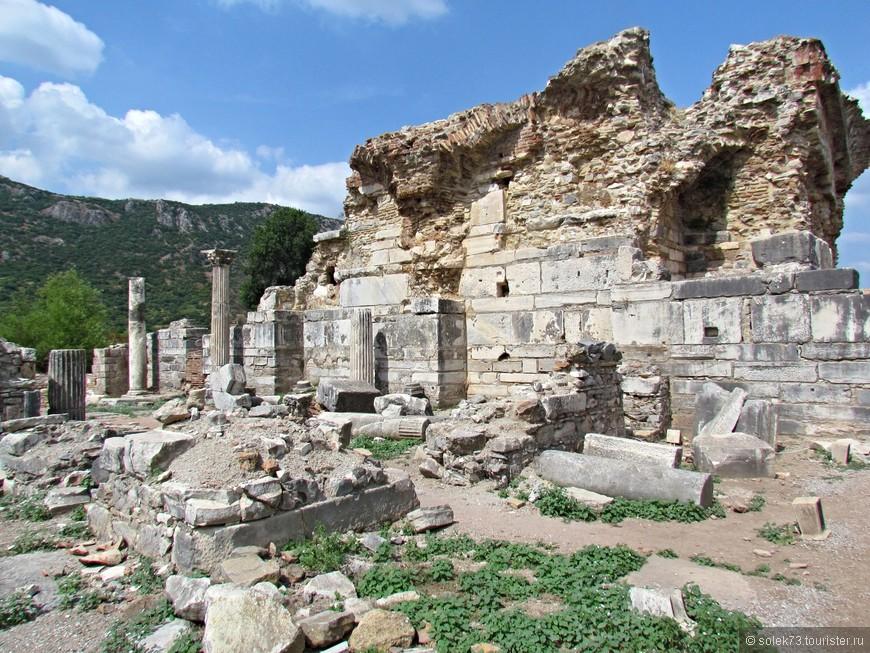 Развалины Эфеса.