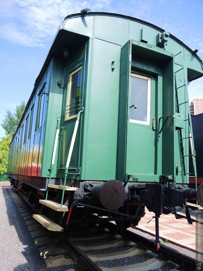 Один из вагонов Санитарного поезда