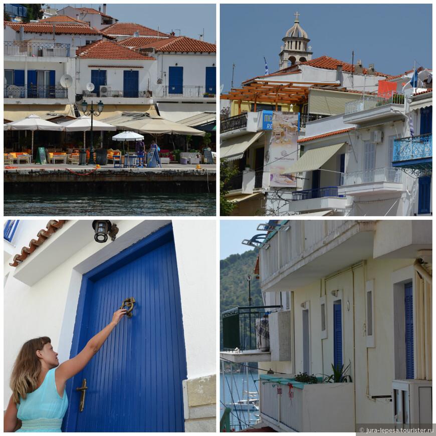 Традиция красить дома в синий и белый цвета пошла в Греции со Второй мировой. Когда оккупировавшие остров Санторини немцы запретили гордым грекам вывешивать греческие флаги, жители за одну ночь выкрасили свои дома в цвета греческого флага.