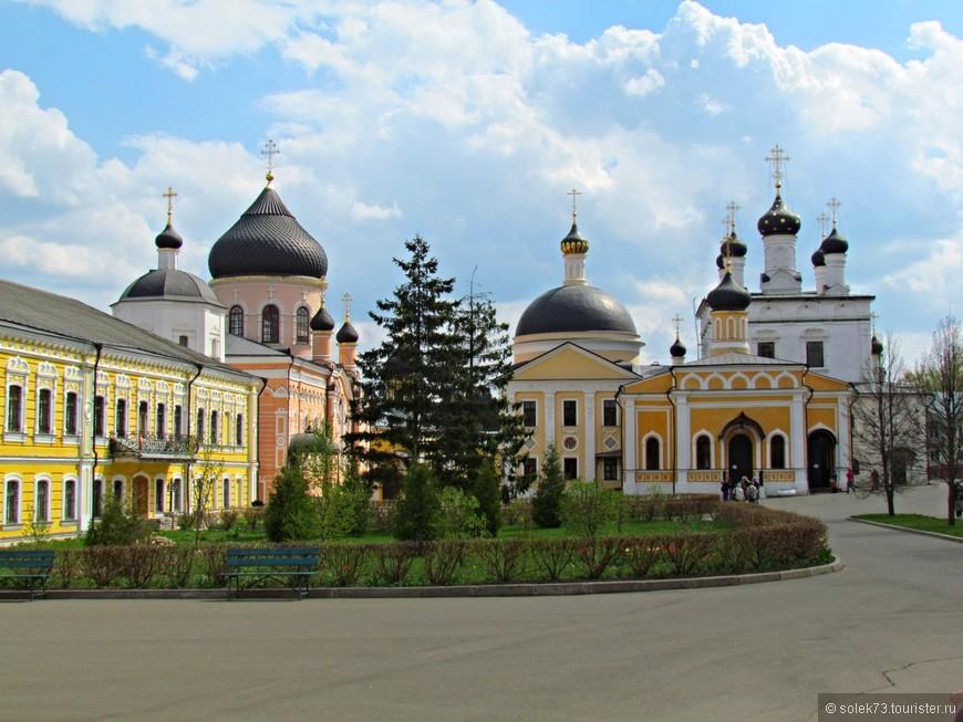 Вознесенская Давидова Пустынь- мужской монастырь Московского патриархата.