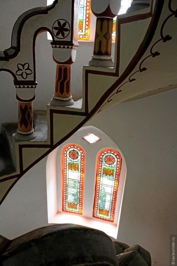 Башня изнутри