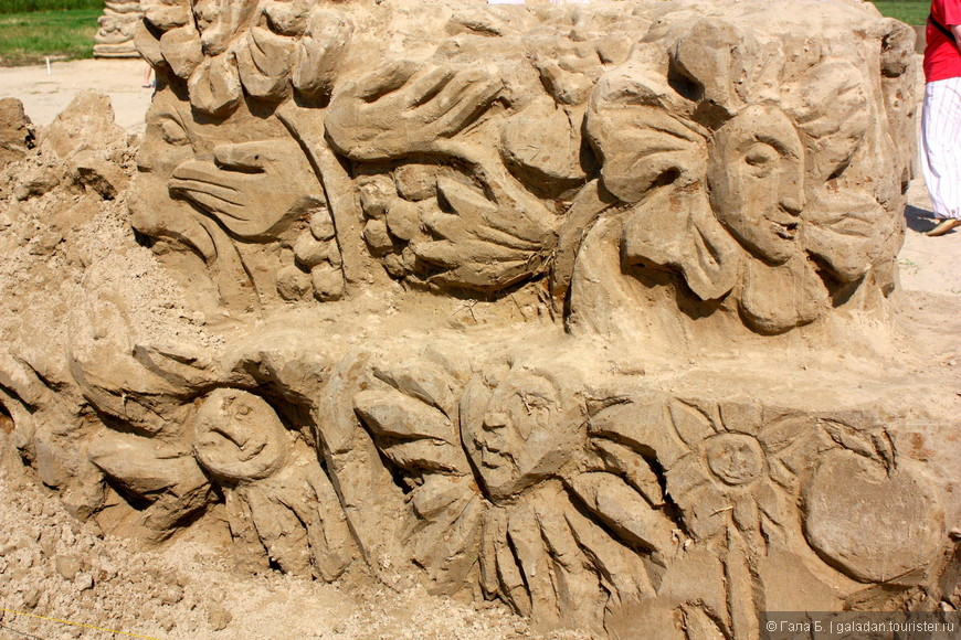 Песочные миражи (фрагменты работ)