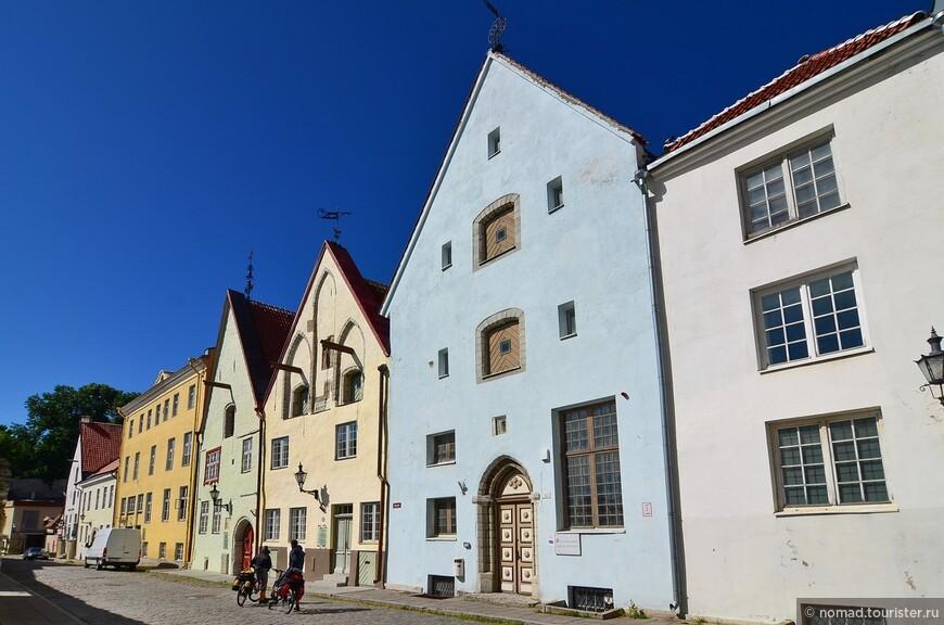 Таллинские домики.