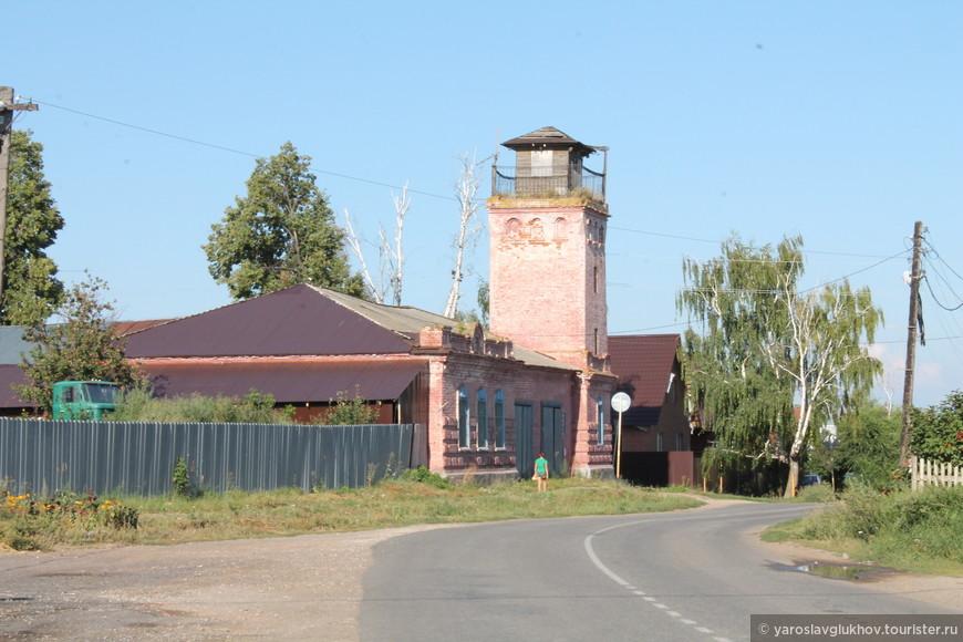 Старая пожарная каланча.