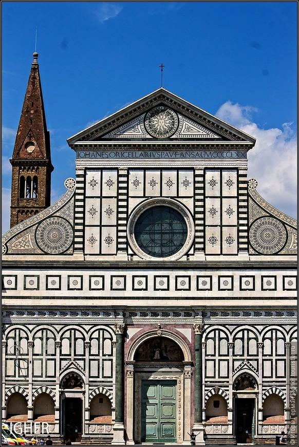 и вот такой базиликой под названием Санта Мария Новелла