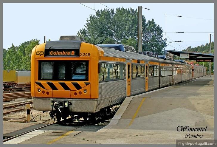 Электричкой из Порту в Коимбру и назад. Не скорым поездом!