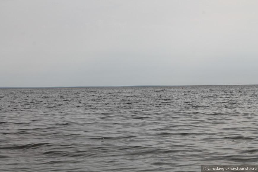 Кама при впадении в Волгу - Куйбышевское водохранилище.