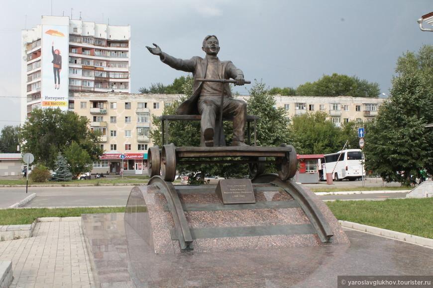 Памятник Йывану Кырле.