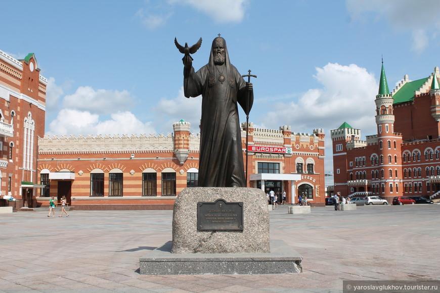 Памятник Патриарху Алексию II.