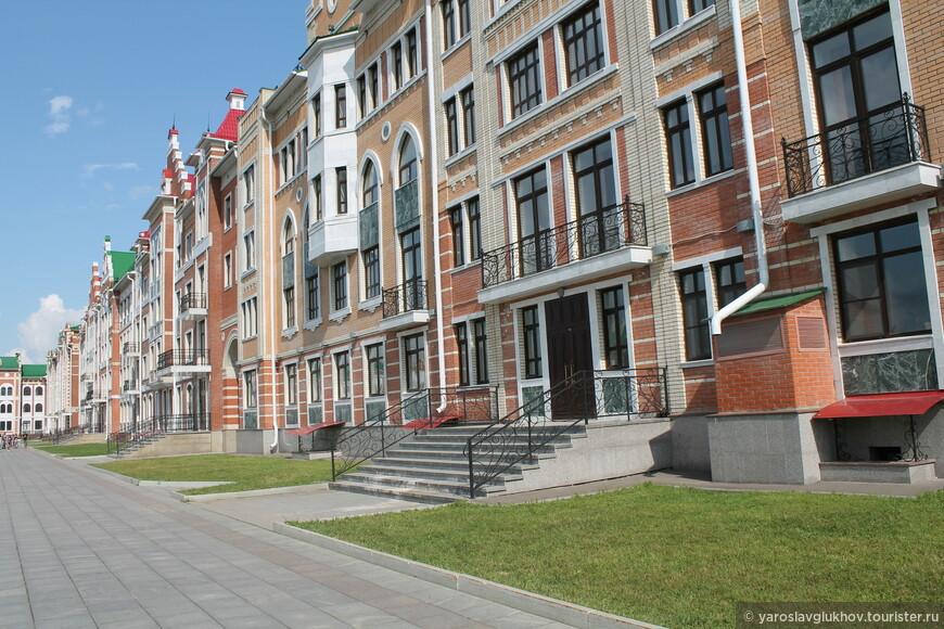 Набережная Брюгге с земли.