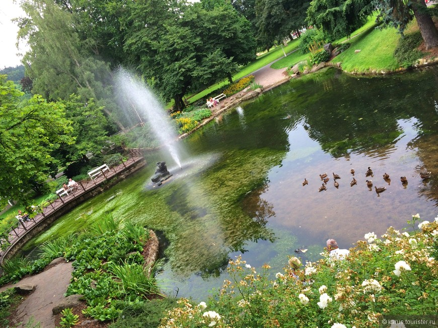парк в Мариинских лазниях