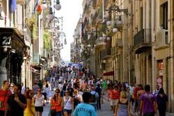 В Барселоне прошла акция против иностранных туристов