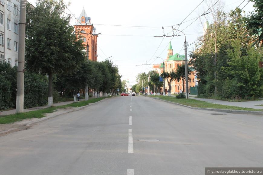 Улица Вознесенская.