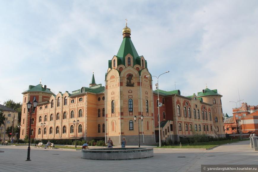 Православный центр Йошкар-Олы.