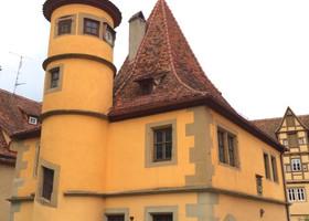 Город-сказка Ротенбург-на-Таубере. Германия