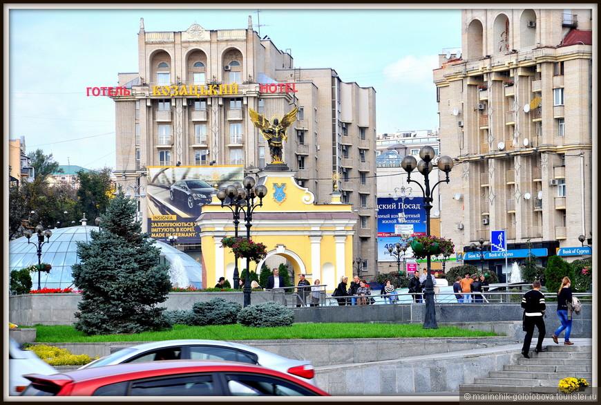 Лядские ворота в Киеве - на сегодняшний день представляют собой полную реконструкцию Лядских Ворот Киева времен позднего средневековья. Ворота были установлены в 2001 году