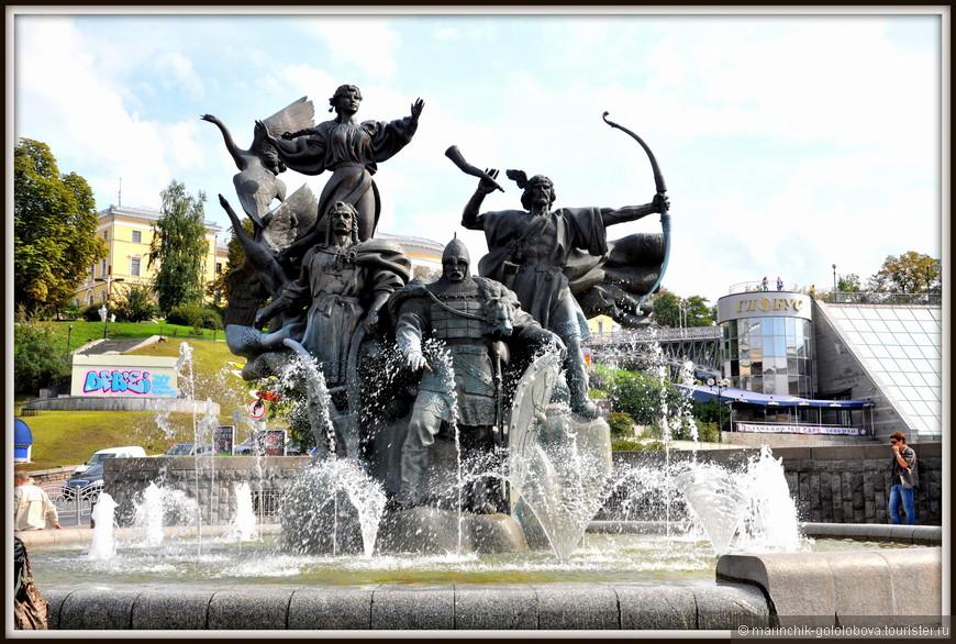 """Площадь Независимости. Одно из старых названий площади - """"Козье болото"""""""