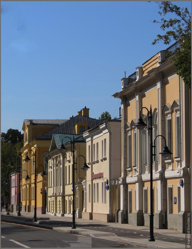 Отреставрировали практически все - 114 - здания и особняки.