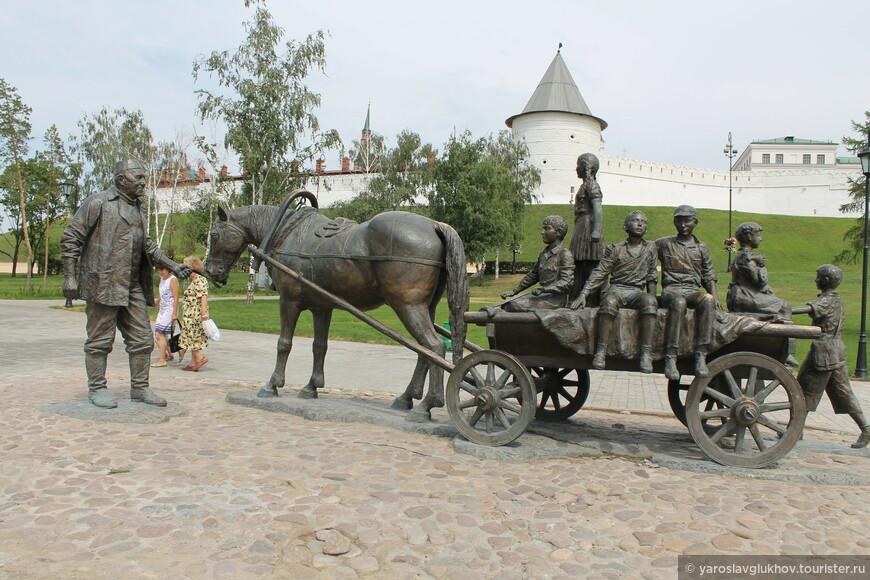 Памятник благотворителю.