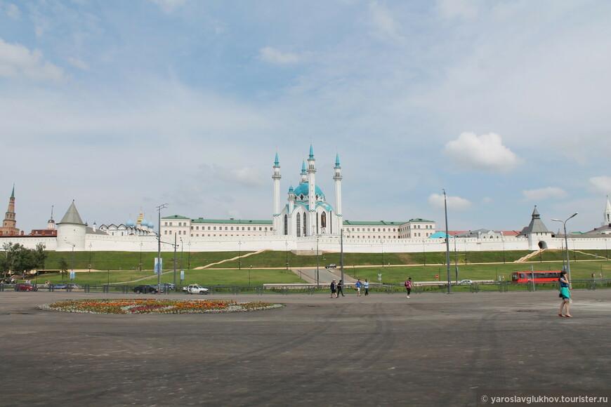 Панорама Кремля.