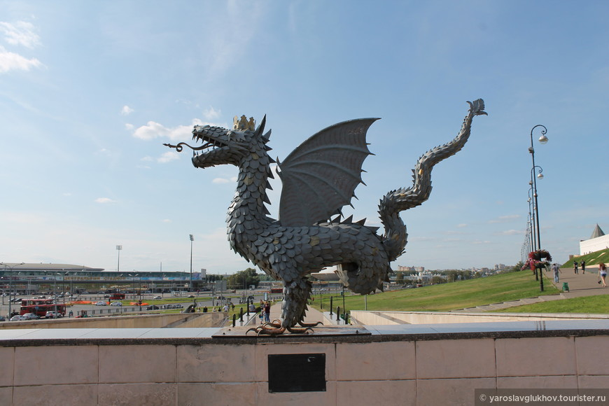"Скульптура ""Дракон""."