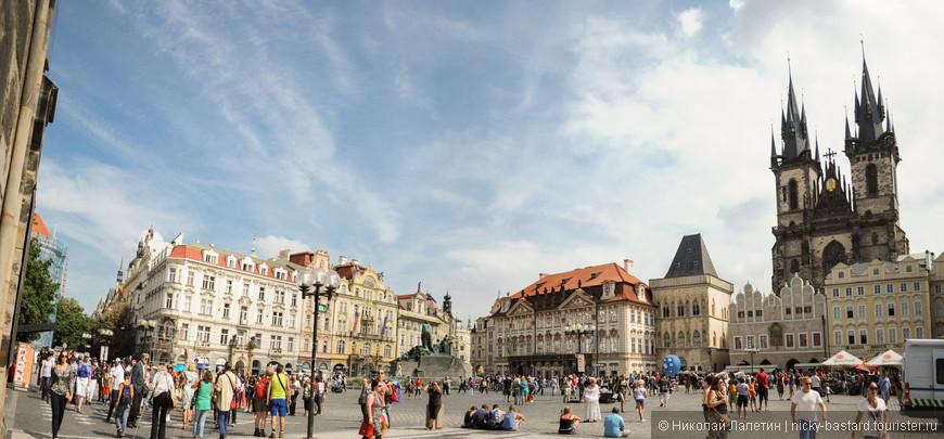 Староместская площадь - сердце Старого города, именно самой Праги, вокруг которой и образовался современный город, после объединения нескольких отдельных деревень и городков.