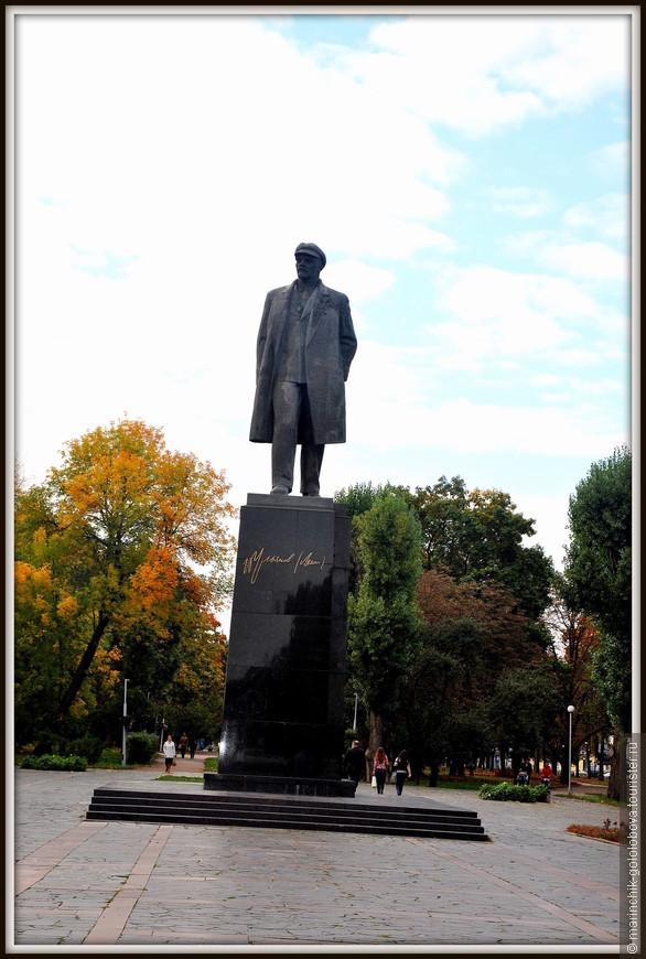 Ну и как без памятника Ленину