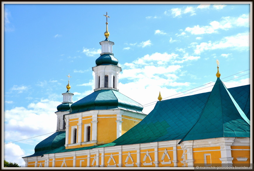 Троицко-Ильинский монастырь. Введенская церковь. Построена как трапезная.