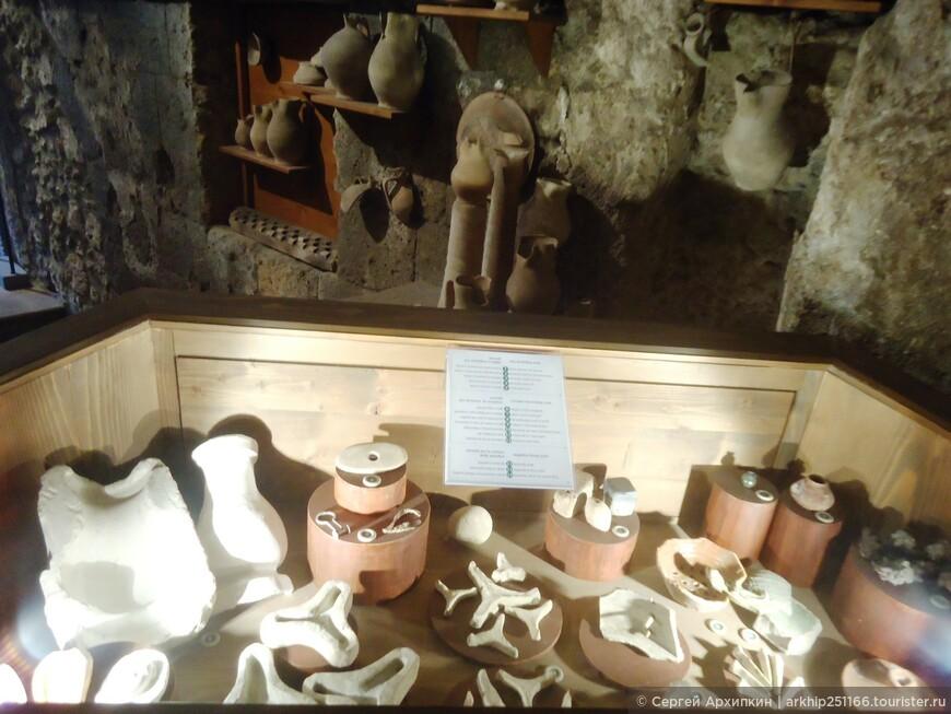 Сейчас здесь сделан небольшой музей- подземного Орвието