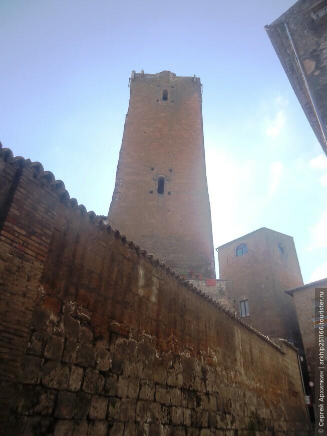 Средневековые башни Орвието