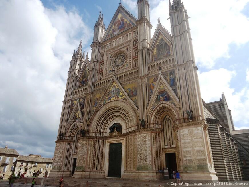 Дуомский собор в Орвието ,1310 год- шедевр на все времена!