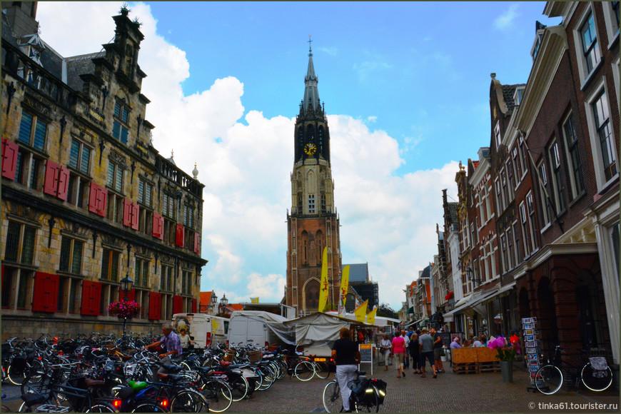 Рыночная площадь и Новая церковь.