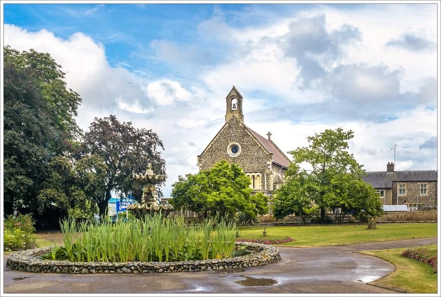 в  центре города восстановлены во всем их викторианском великолепии сады Forbury