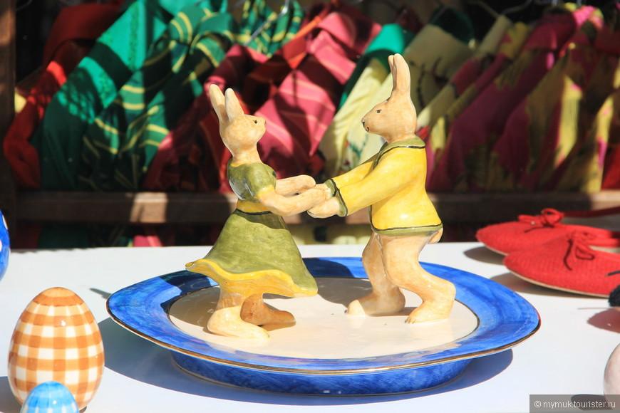 ...танцующие зайцы,