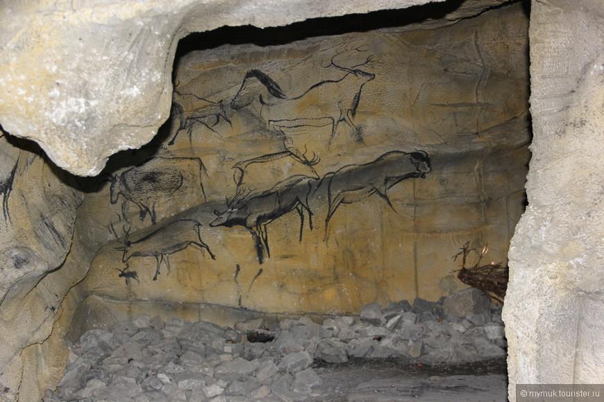 и даже наскальную живопись наших, а точнее предков швейцарцев