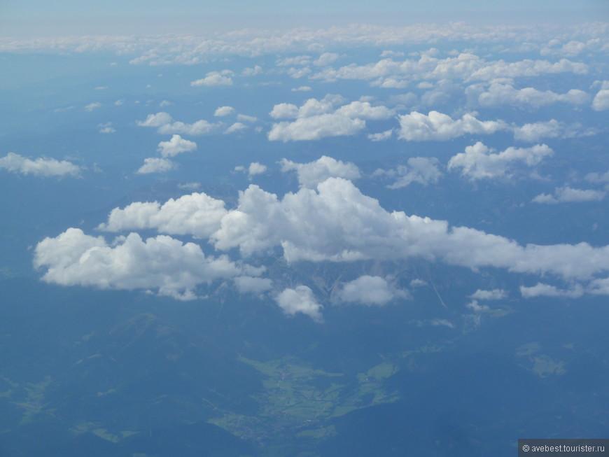 Небо над Венгрией.