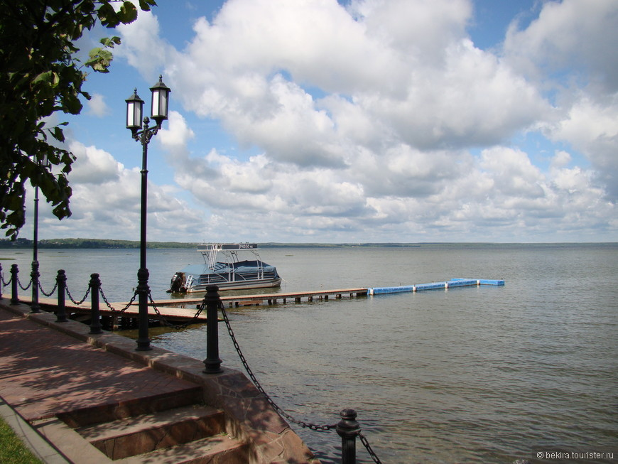 Озеро Плещеево (вид с Набережной).