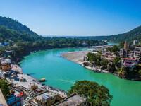 GANGA-river. Ришикеш