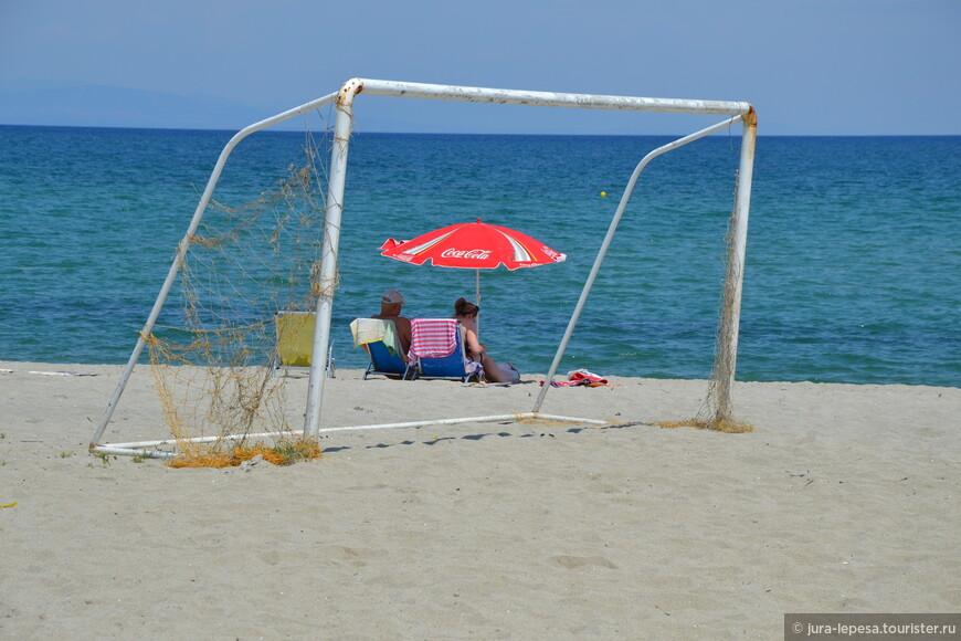 Пляжи Олимпийской Ривьеры многочисленны и благоустроены. Несколько отмечены особой наградой - Голубым флагом.