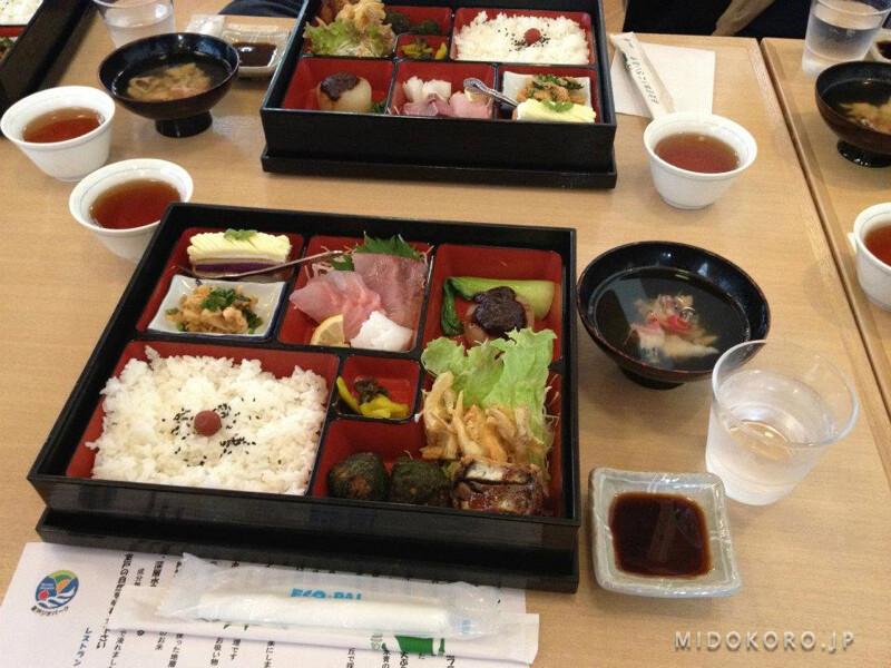 Типичный походный обед японского туриста. Сытно, легко, питательно, вкусно, не дорого - 15 долларов.