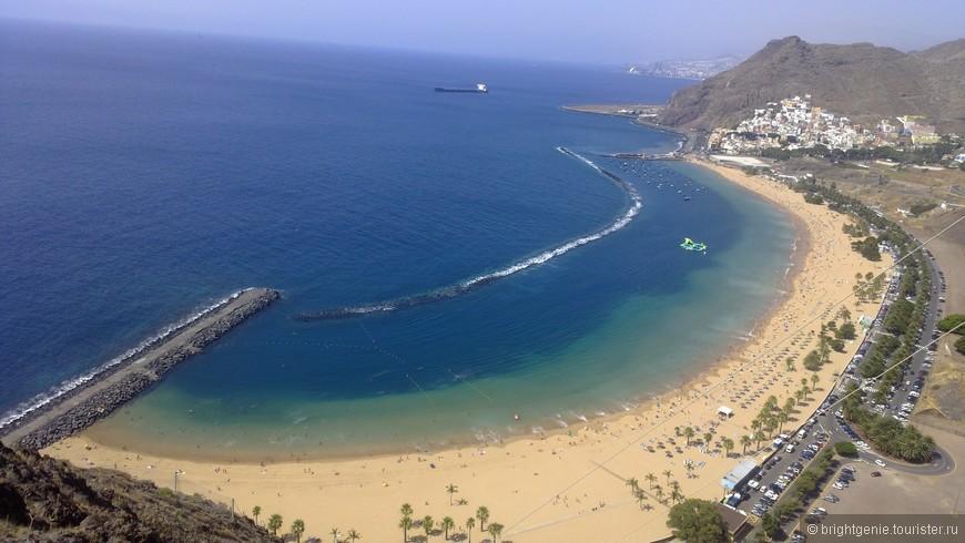 пляж с желтым песком (San Andres)
